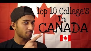 Gambar cover Top 10 Colleges in Canada 2018
