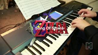 Song of Storms: The Legend Of Zelda Ocarina Of Time (missingNo)