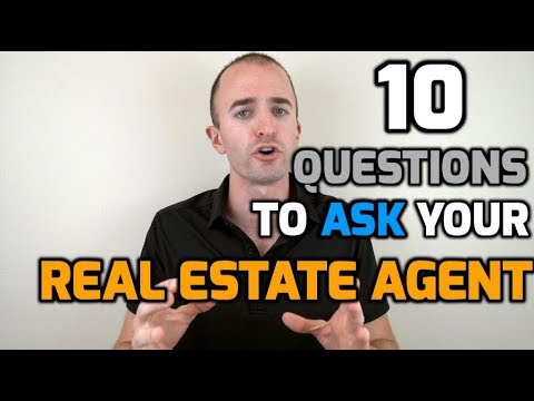 10 Questions to Ask Your Real Estate Agent When Buying a Hou
