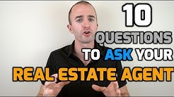 "10 Questions to Ask Your <span id=""real-estate-agent"">real estate agent</span> When Buying a House 