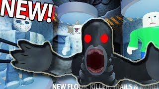Don't play in a scary ELEVATOR in 3:00 night! ROBLOX