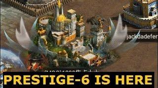 Clash of Kings: Prestige 6 Castle 13.04.2017 [NEW Beta]