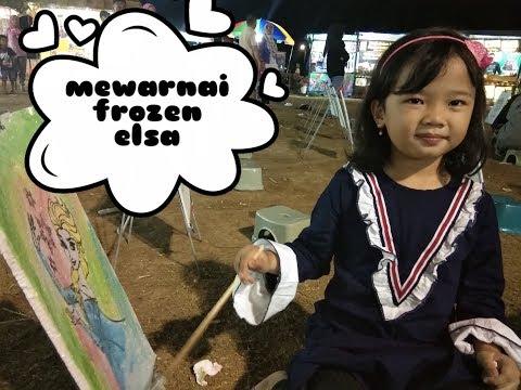 Mewarnai Frozen Elsa Di Pasar Malam Download Gambar Online