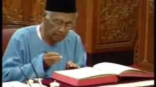 FMT 16DIS - SYED HUSIN ALI ANGKAT SUMPAH SEBAGAI SENATOR DEWAN NEGARA.wmv