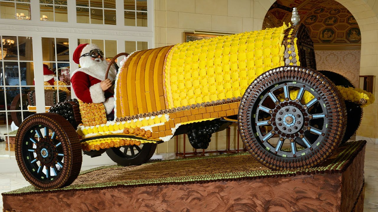 1918 Pierce Arrow Touring Car The Broadmoor Special Gingerbread Replica