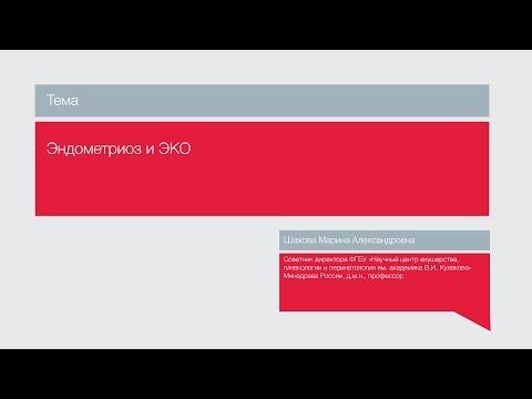 "Лекция ""Эндометриоз и ЭКО"""