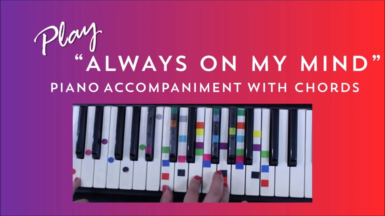 How To Play Sing Always On My Mind Willie Nelson Easy Piano