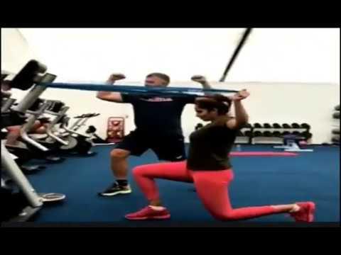 Sania Mirza amazing training session