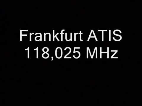 Frankfurt EDDF ATIS