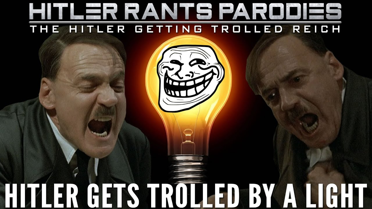 Hitler gets trolled by a light