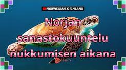 Norjan sanastokuuntelu nukkumisen aikana | Golearn