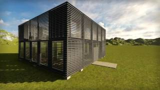 Casa 4 containere