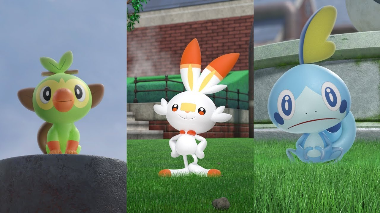 Pokemon Sword Nintendo Switch Games Nintendo