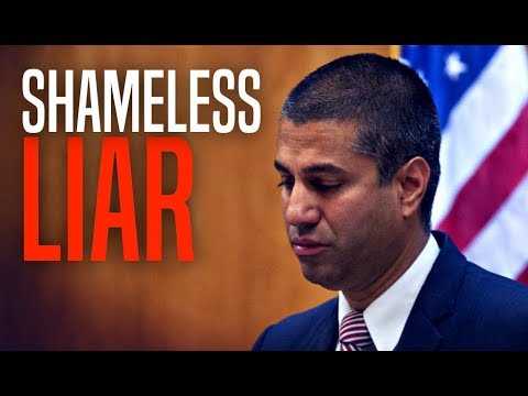 "Ajit Pai Cites Laughable ""Proof"" Net Neutrality Repeal Now Encouraging Investment"