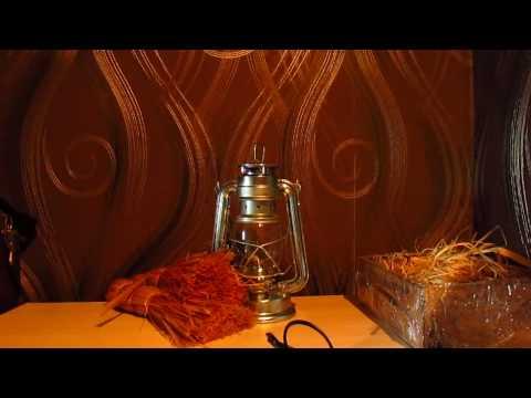 Настольная лампа керосинка своими руками