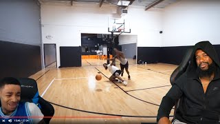 FLIGHT IS A HATER HATER!! Cash 1v1 Basketball Against Deestroying...Most Physical Game Ever!