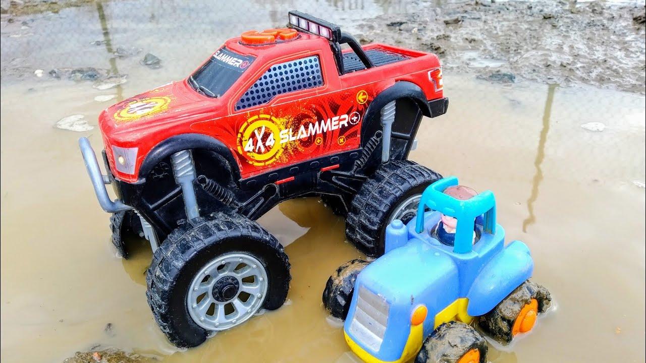 Мультики про машинки. Синий трактор и монстр трак. Машинки ...