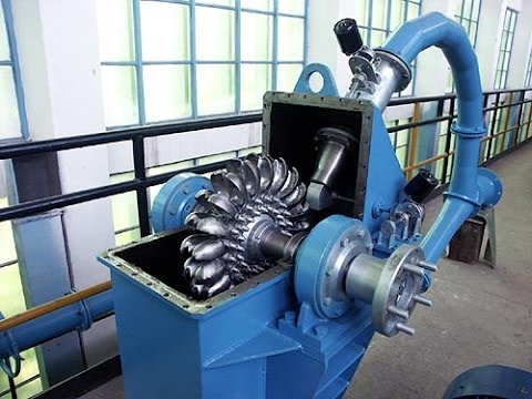 Transparent Model Of Pelton Turbine