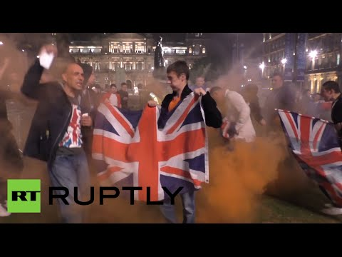 UK unionists incite chaos in Glasgow after 'No' victory in r