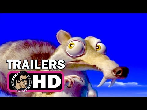 ICE AGE 1-5 ALL Trailers Compilation, John Leguizamo Animated Movies HD