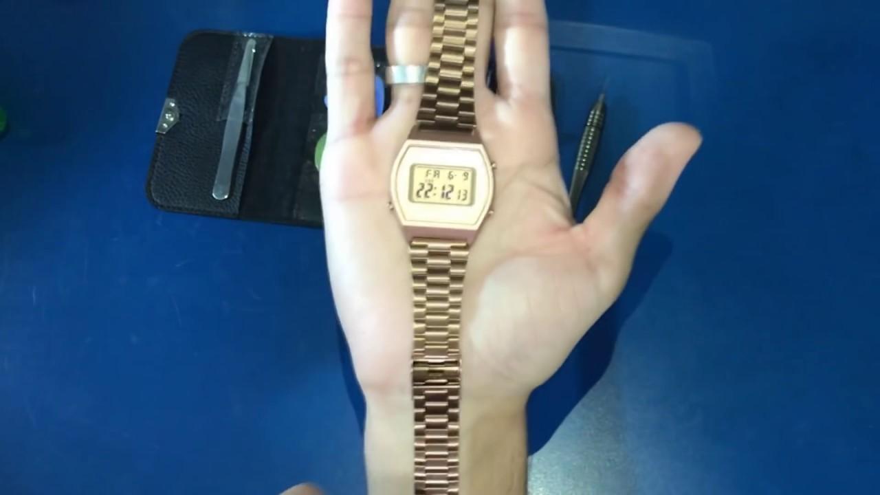 bcd1d6efa6b Como ajustar a pulseira do relógio CASIO VINTAGE  (e modelos semelhantes)