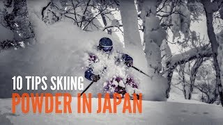 Ski Japan - 10 SKIING TIPS FOR SKIING POWDER IN JAPAN.