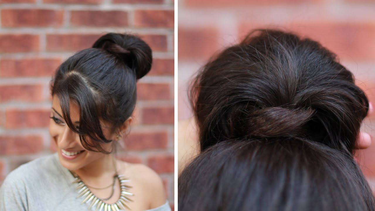 hair styles for a prom everyday hairstyle easy wrap around bun 5564 | maxresdefault