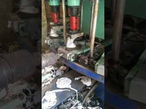 PVC DIP Shoe Sole Injection Molding Process Machine Mould Supply