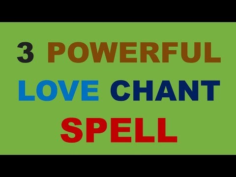 3 most powerful love chant spell which work in any case immediately