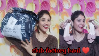 Club factory haul || Everything on cheap price