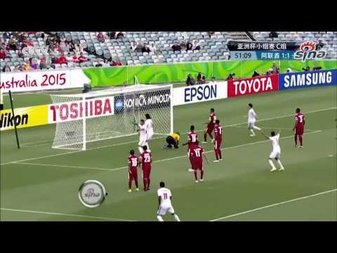 UAE vs Qatar (4-1) All Goals Full Match Highlights 2015 Asian Cup Group C 11 January 2015