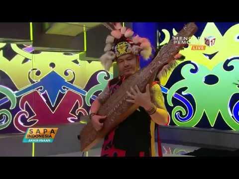 Lestarikan Budaya Borneo Lewat Musik