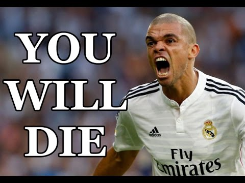 Pepe ● Craziest Moments ● Tackles, Fights, Fouls & Red Cards ● HD