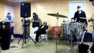 Banda Agavera de Santa Maria, California en Ensayo