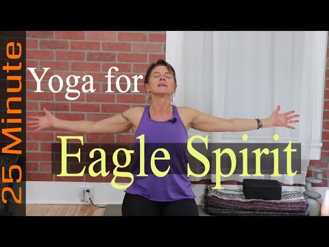 Yoga - Eagle Spirit (Voice, Hand Gestures, ASL And CC Included)