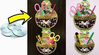 Diy Best Craft Out Of Cds Old Cds Craft Idea Video Mas Popular