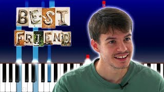 Rex Orange County - Best Friend (Piano Tutorial)