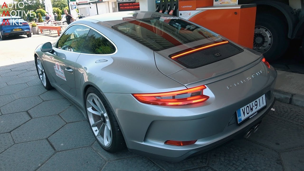 Porsche  Gt Touring At The Nurburgring