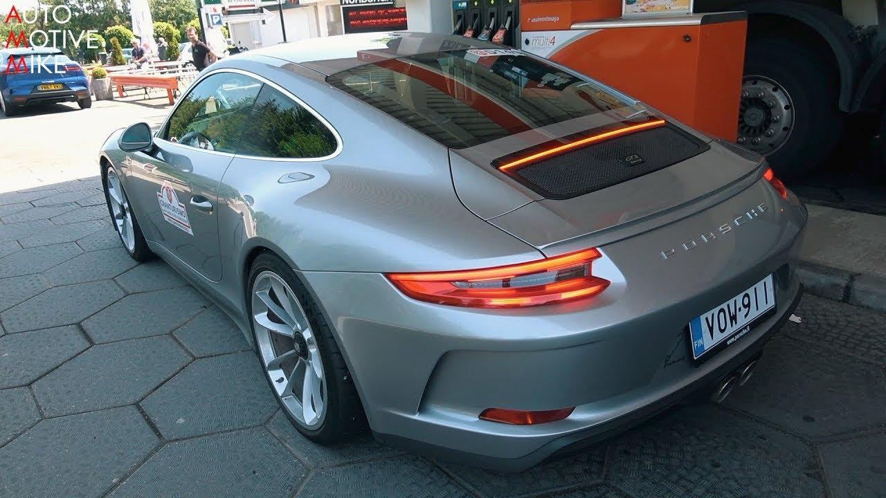 Porsche 991 Gt3 Touring At The Nürburgring