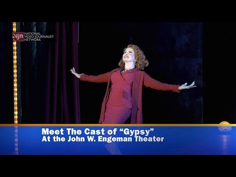 "Meet the Cast of ""Gypsy"" at the John W  Engeman Theater"