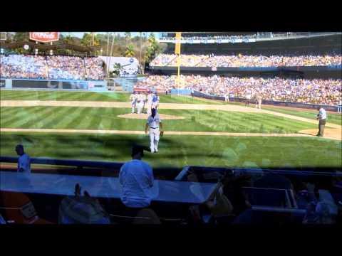 Dodgers Stadium, 9/29/13 Fan Appreciation Day, Todd Helton