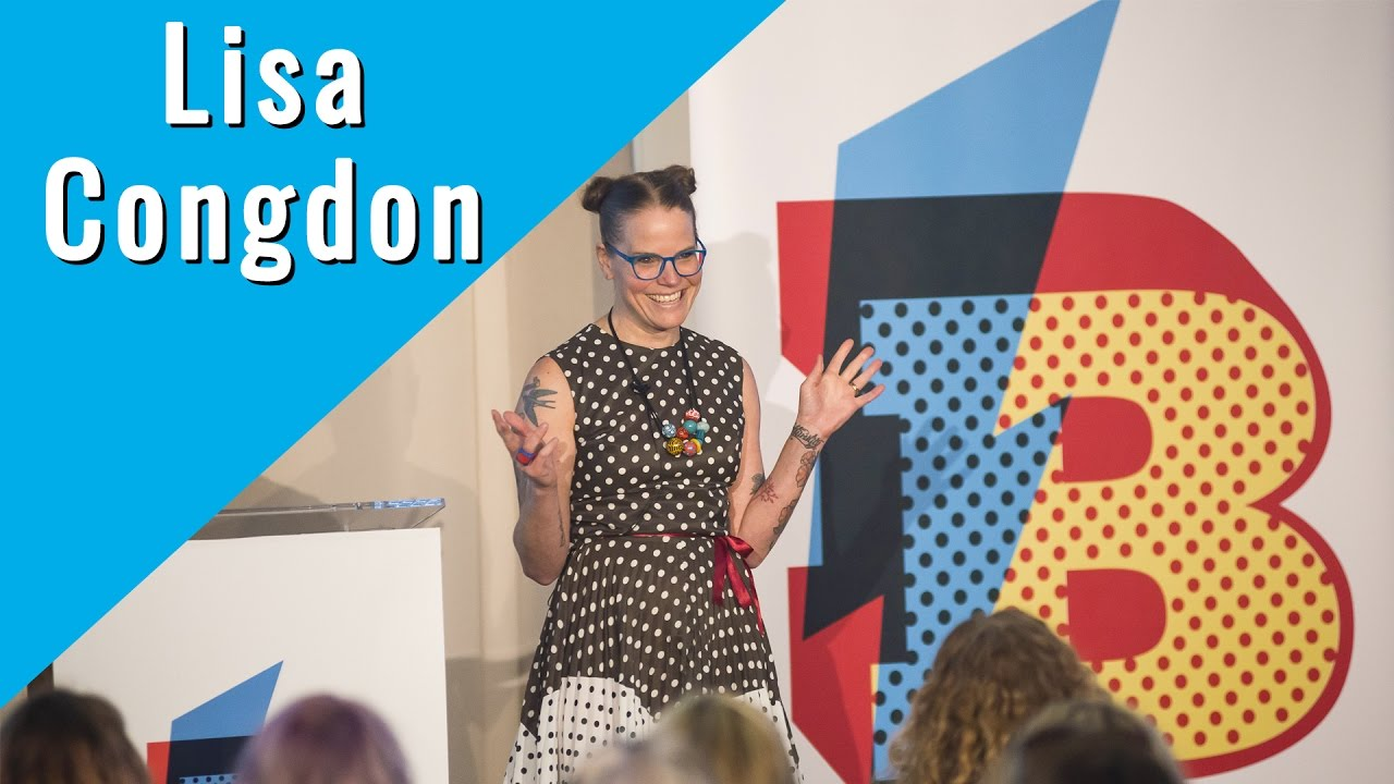 Lisa Congdon Blogtacular Keynote - YouTube