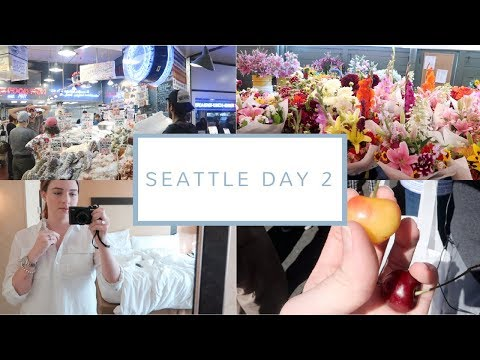 Pike Place Market + Best Bites Food Tour | Seattle Day 2 | July 29, 2017