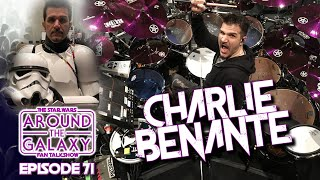Anthrax Drummer Charlie Benante talks Star Wars, Funko, Persistence Of Time | Around the Galaxy