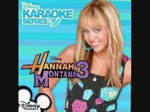 Hannah Montana- Don't Wanna Be Torn (Karaoke/Instrumental) OFFICIAL