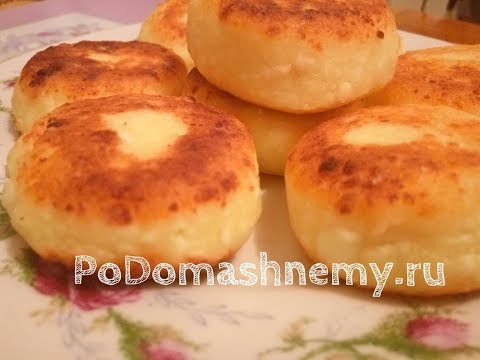 Как приготовить вкусные сырники из творога на сковороде видео