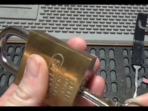 Взлом отмычками ABUS   (175) MrN8007