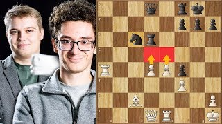 Much to Learn, You Still Have || Kovalev vs Caruana || Tata Steel Masters (2020)