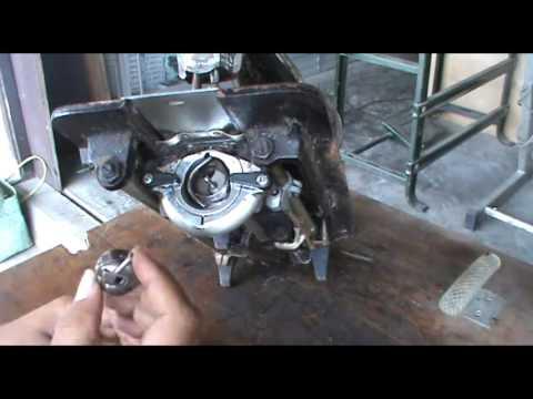 Memperbaiki Jari Sekoci Mesin Jahit Repair Sewing Machine Bobbin Case Finger Problem
