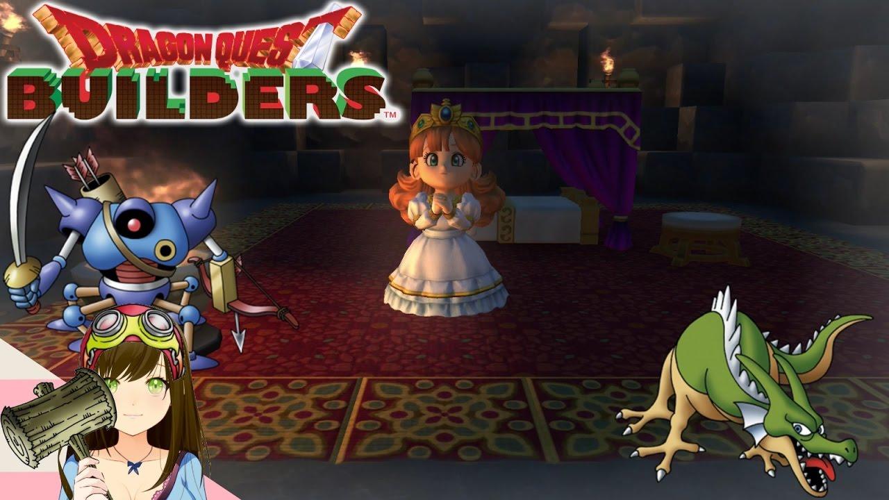 Dragon Quest Builders Princesses Dragons Robots Ep62 Youtube